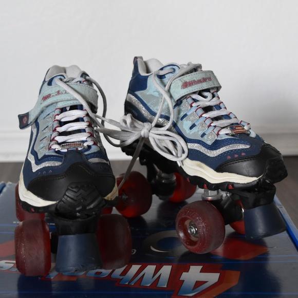 Skechers Roller Skates Derby Quads Size 5 6.5 37